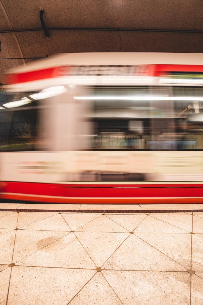 Zug Langzeitbelichtung ohne mitzuziehen